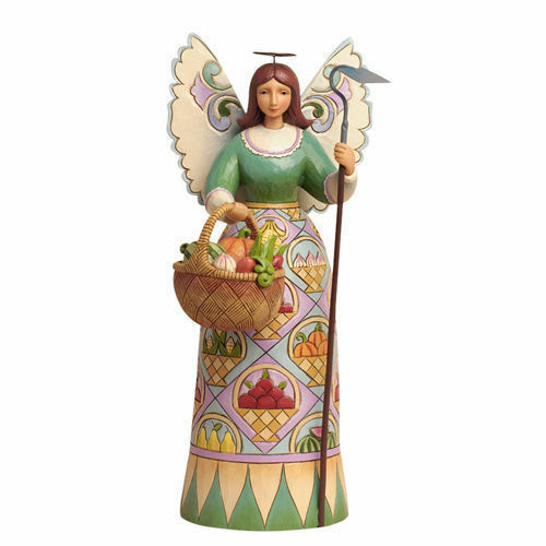 Jim Shore Heartwood Creek Gardening Angel Free Shipping