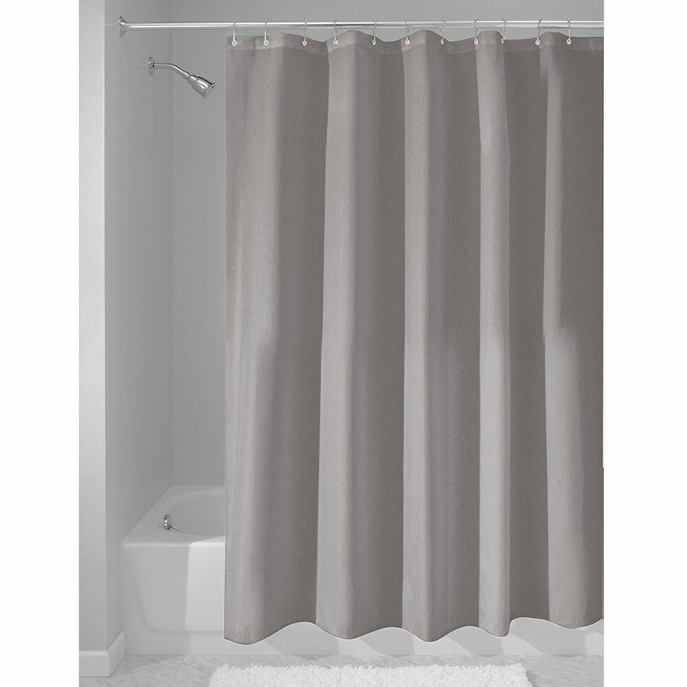InterDesign Fabric Waterproof Shower Curtain Liner,72 By