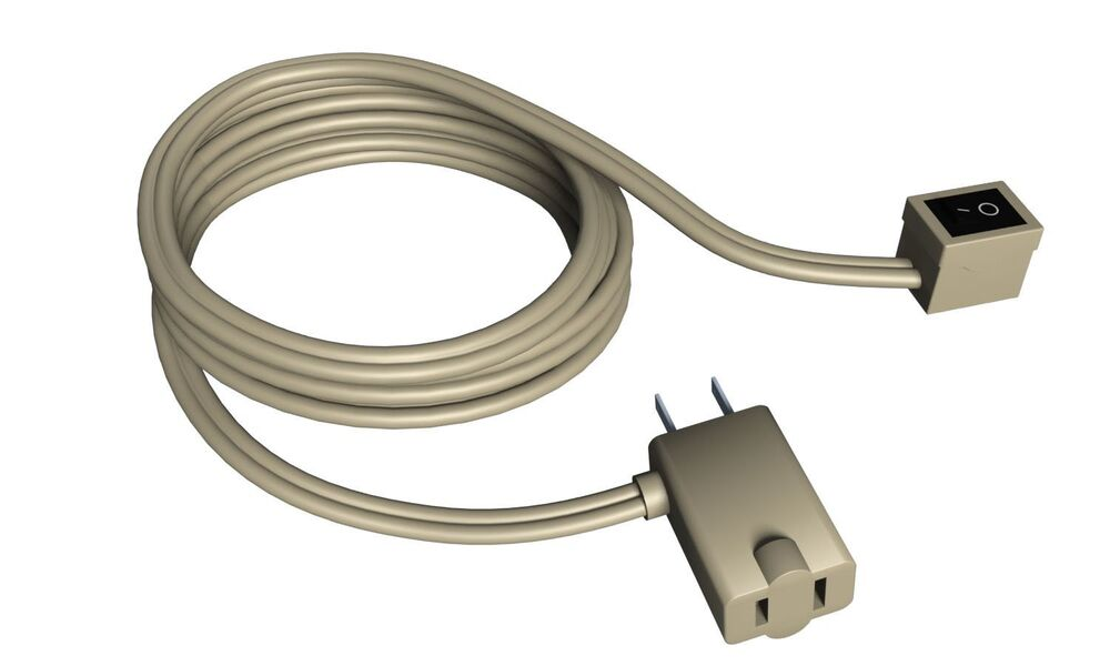 Extension cord with switch