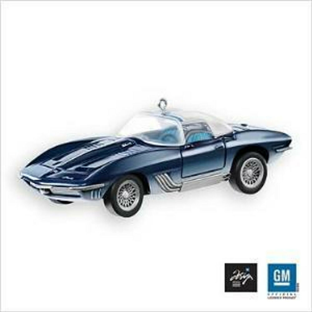 hallmark 2007 mako shark i chevrolet 1961 corvette ornament ebay. Black Bedroom Furniture Sets. Home Design Ideas