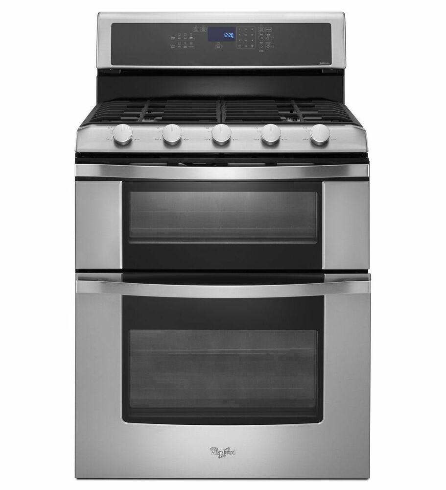 whirlpool wgg555sobs oven gas range 220 volts for export only ebay