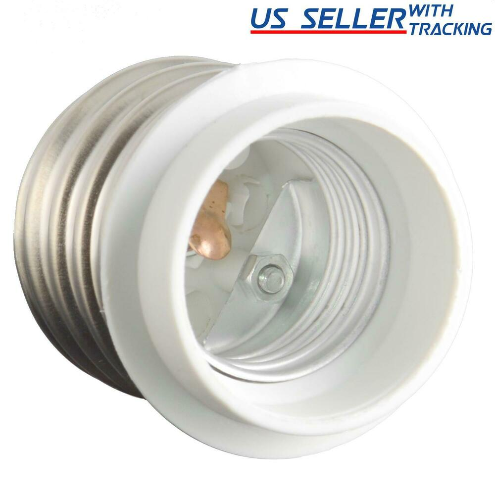 Light bulb socket adapter for antique floor lamp mogul socket to standard us ebay Light bulb socket