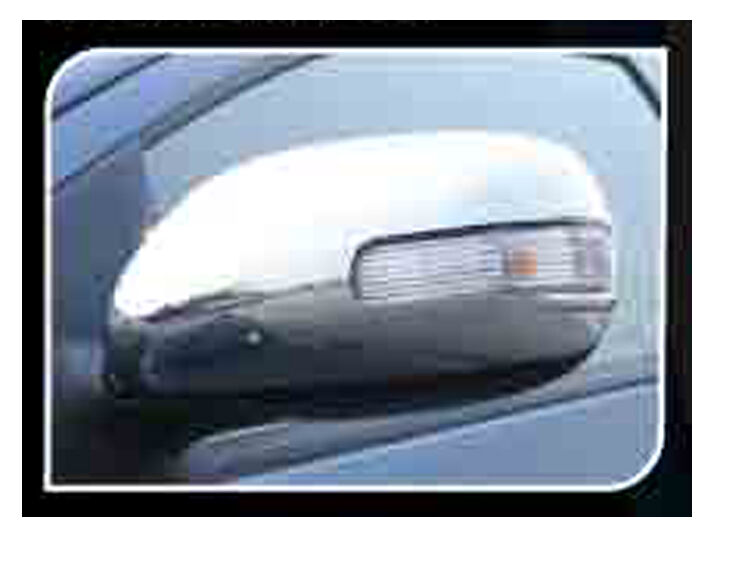 2010 Toyota Corolla For Sale >> CHROME SIDE MIRROR COVER TRIM FOR 4 DOOR TOYOTA COROLLA ALTIS 2008-2012 | eBay