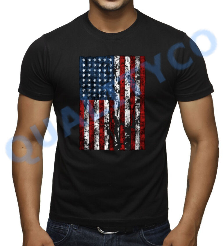 American Flag Patriot Cat Dogs Lovers Paw T-Shirt Comfortable, casual and loose fitting, our heavyweight dark color t-shirt will quickly become one of your favorites. Made from % cotton, it .