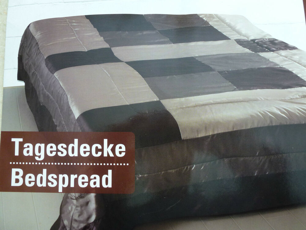 patchwork tagesdecke 210x280cm ebay. Black Bedroom Furniture Sets. Home Design Ideas