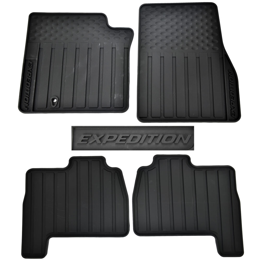 Oem New 2003 2010 Ford Expedition Black All Weather Floor