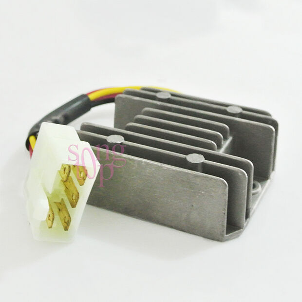 5 wire voltage regulator rectifier fits honda cg125 gy6. Black Bedroom Furniture Sets. Home Design Ideas