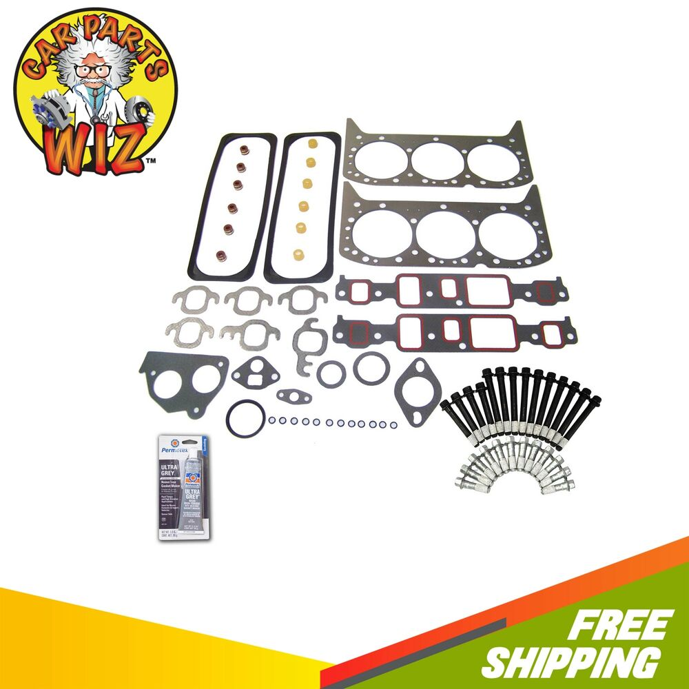 Head Gasket Set Bolts Fits 93 Chevrolet Astro Caprice GMC