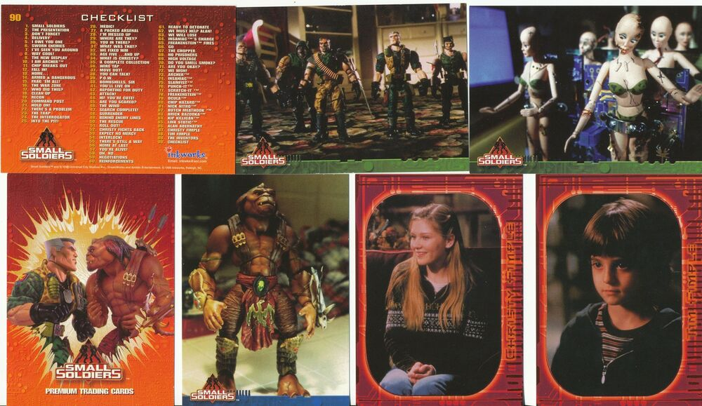1998 Inkworks Small Soldiers Trading cards: 90 Card Base ...