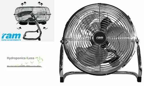 9 12 16 ram metal floor air circulator 2 3 speed quiet for Air circulation fans home