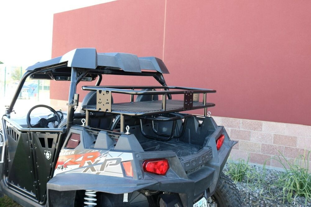 Baja Safari Cargo Rack Bed Extender Utv Rax Polaris Rzr Xp