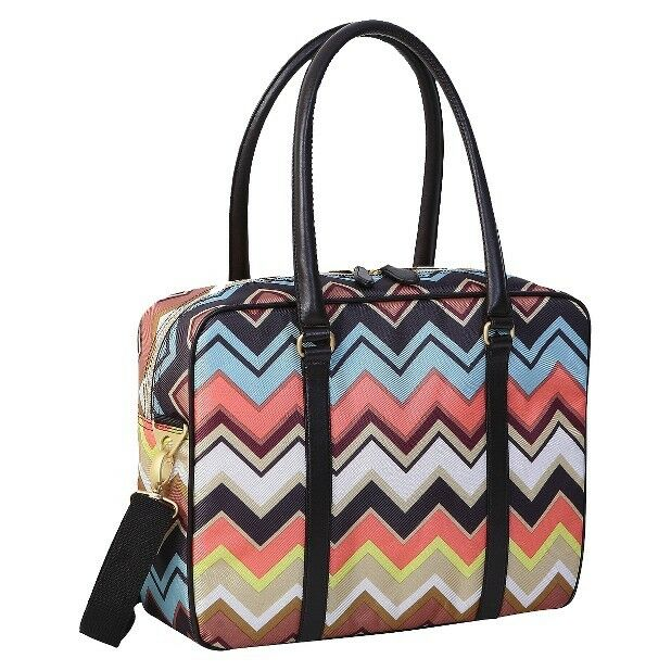 Missoni For Target Luggage Travel Tote Zig Zag Suitcase