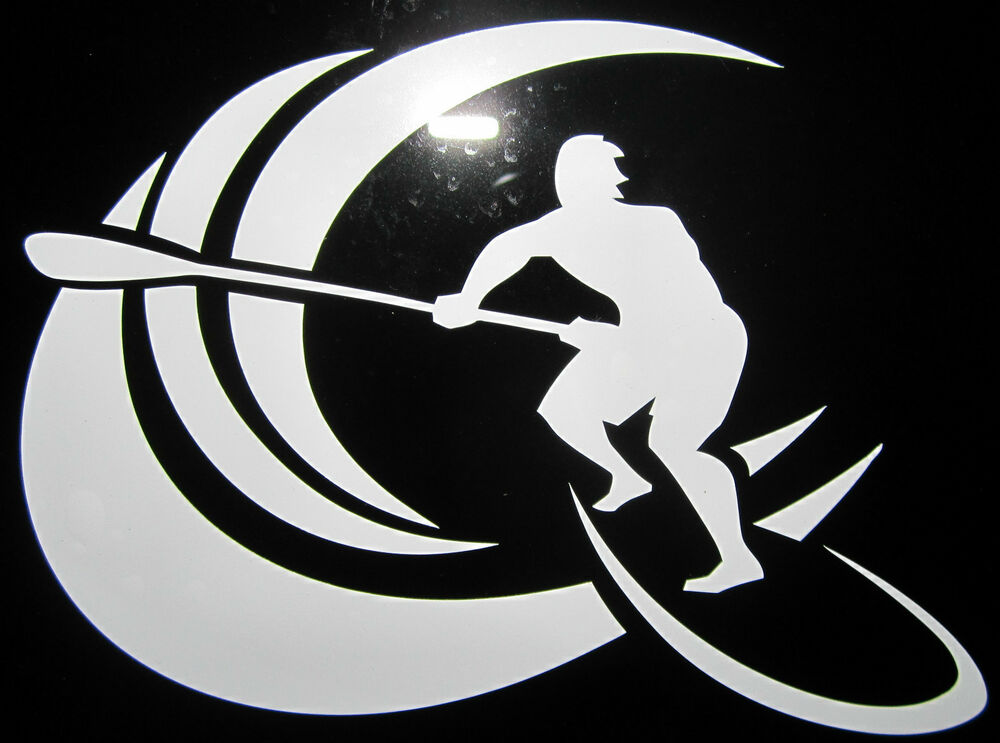 Stand Up Paddle Board Vinyl Decal Sticker Waterproof Surf