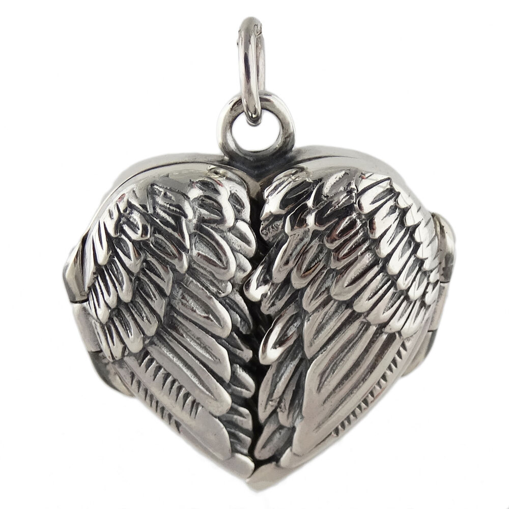 Eudora 2 colors Copper Metal Angel Wing Pendant Necklace