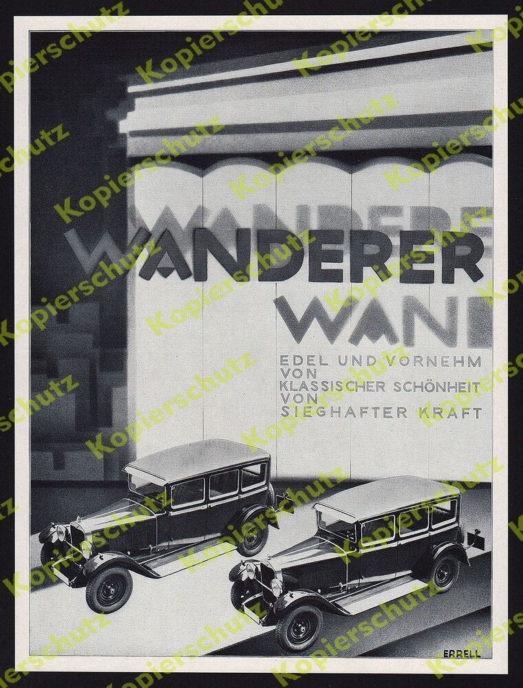 richard levy errell bauhaus art deco fotocollage auto pkw wanderer chemnitz 1929 ebay. Black Bedroom Furniture Sets. Home Design Ideas