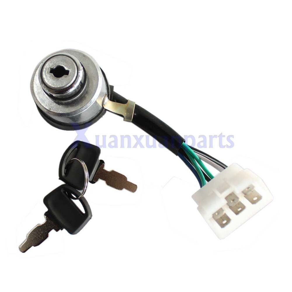 Ignition key switch for multi power mp df e