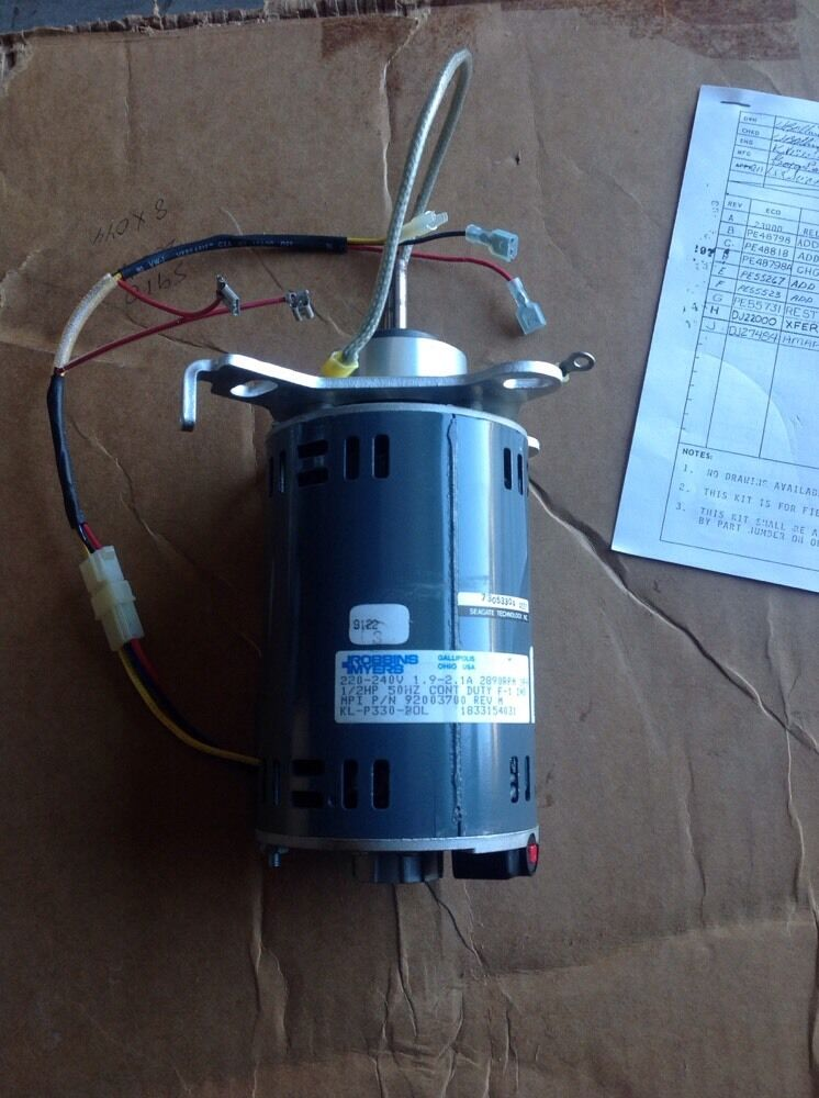 Seagate robbins myers alternating current motor 47204317 for Robbins and myers replacement motors