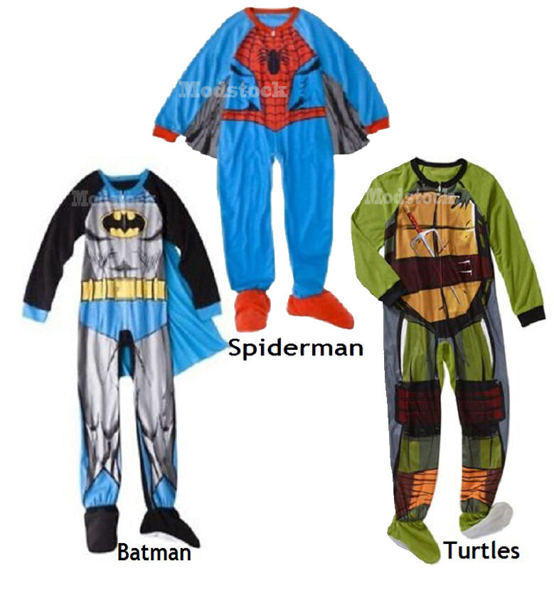 Boys Footed Pajamas | eBay