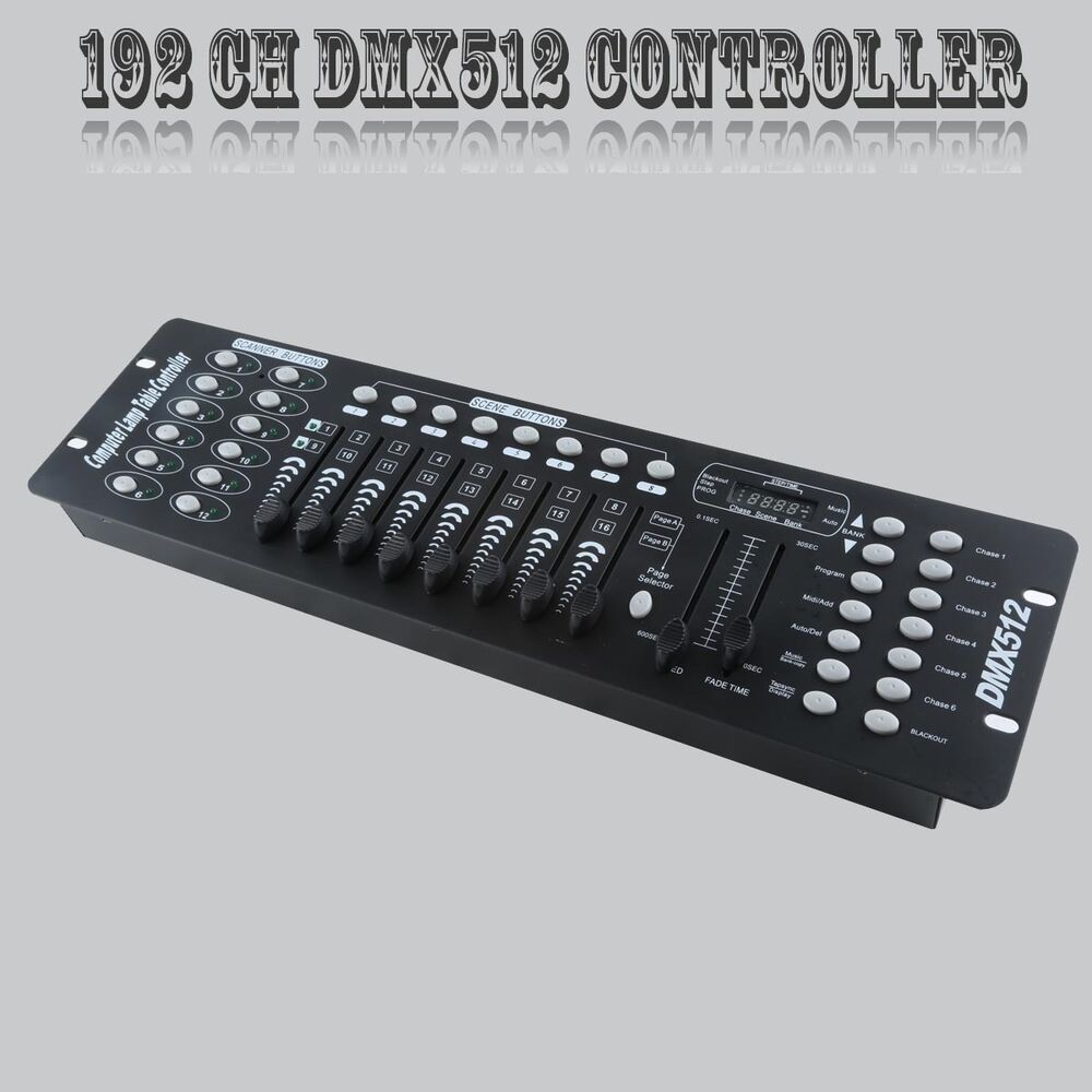 Dmx Operator Light Controller: 192 Channels DMX512 Controller Console For Stage Light