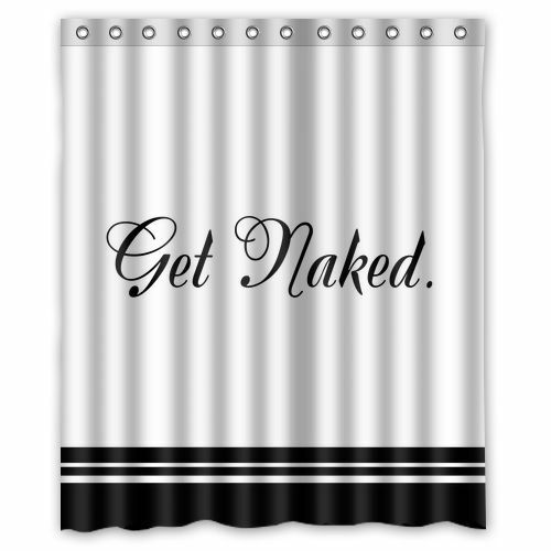 High Quality Quote Get Naked Bathroom Waterproof Shower Curtain 60 X 72 Inch Ebay