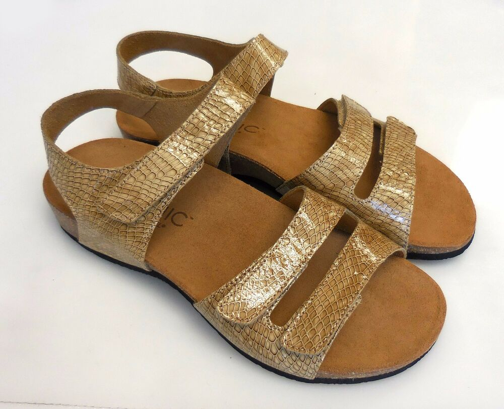 Lastest Planet Women Leather Arch Support Sandals Grace Red  The Shoe Link