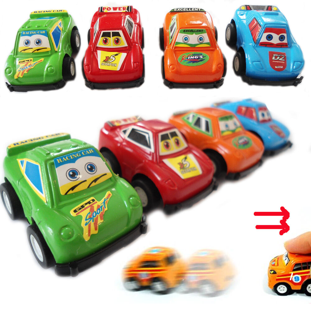 Miniature Toys For Boys : Kids mini pull back sports cars party bag fillers loot