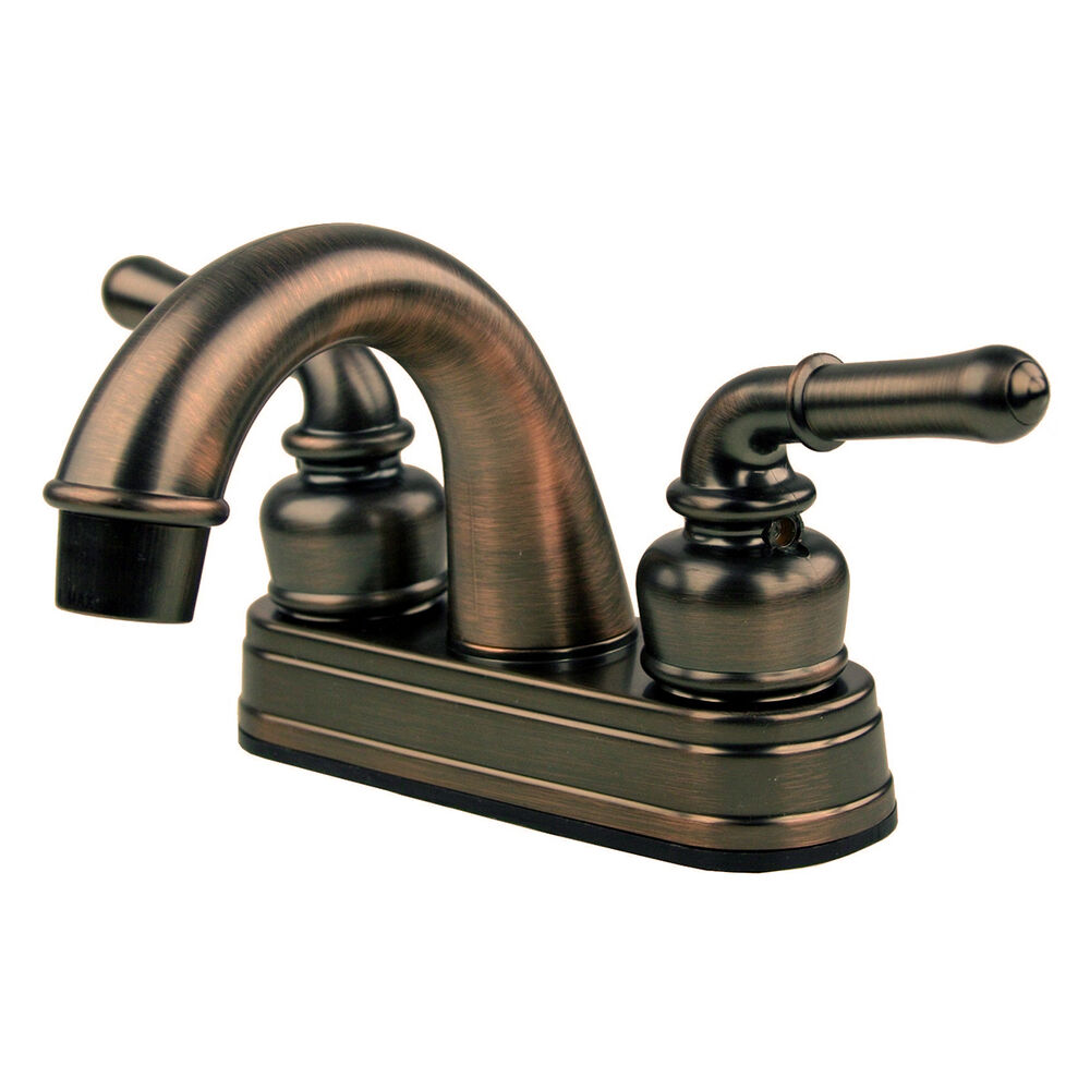 RV / Mobile Motor Home Bathroom Sink Faucet, Oil Rubbed