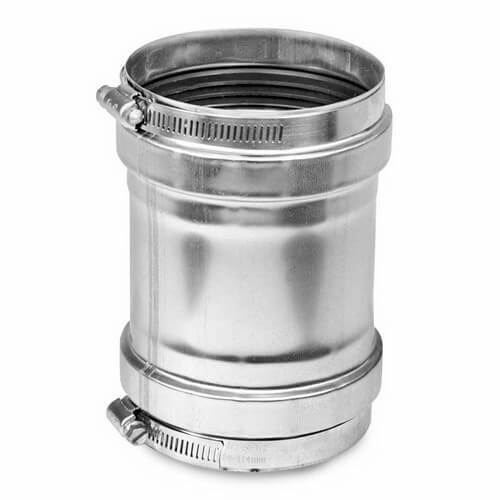 Z Vent Universal Adapter X 4 Quot Stainless Vent For Takagi