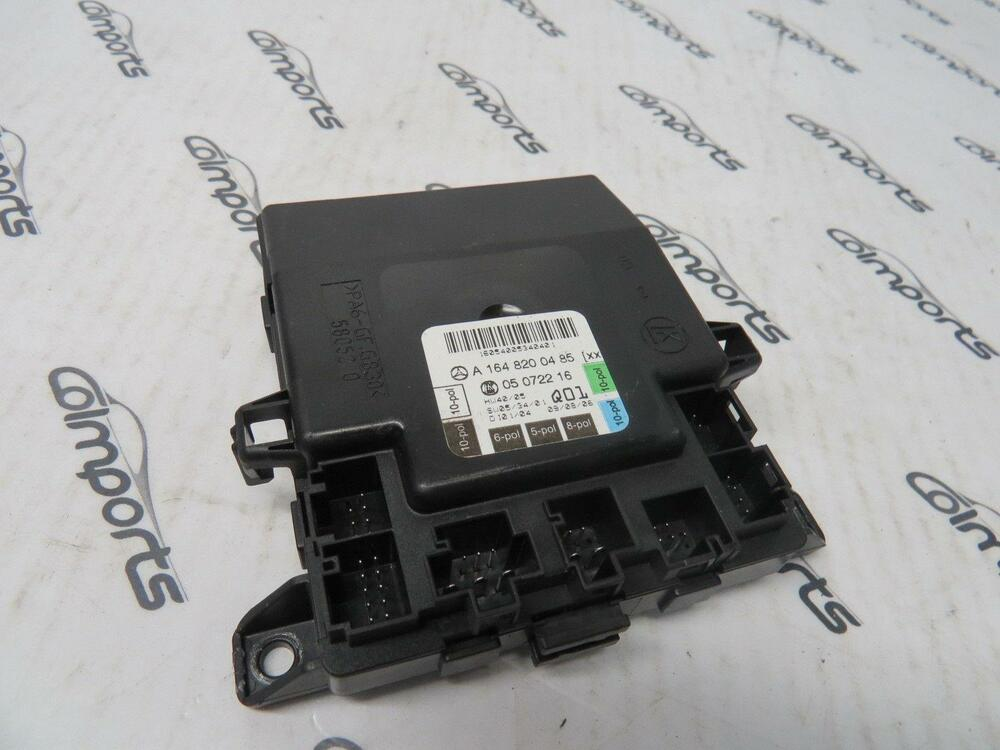 06 12 mercedes ml350 r500 gl450 door control module front for 01333 door control module