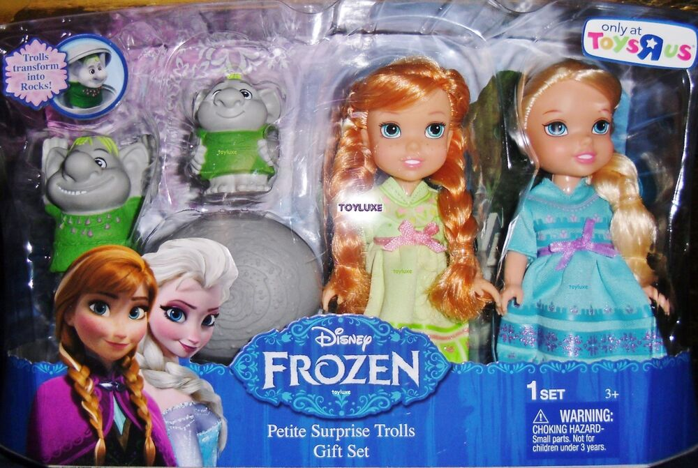 anna and elsa meet the trolls