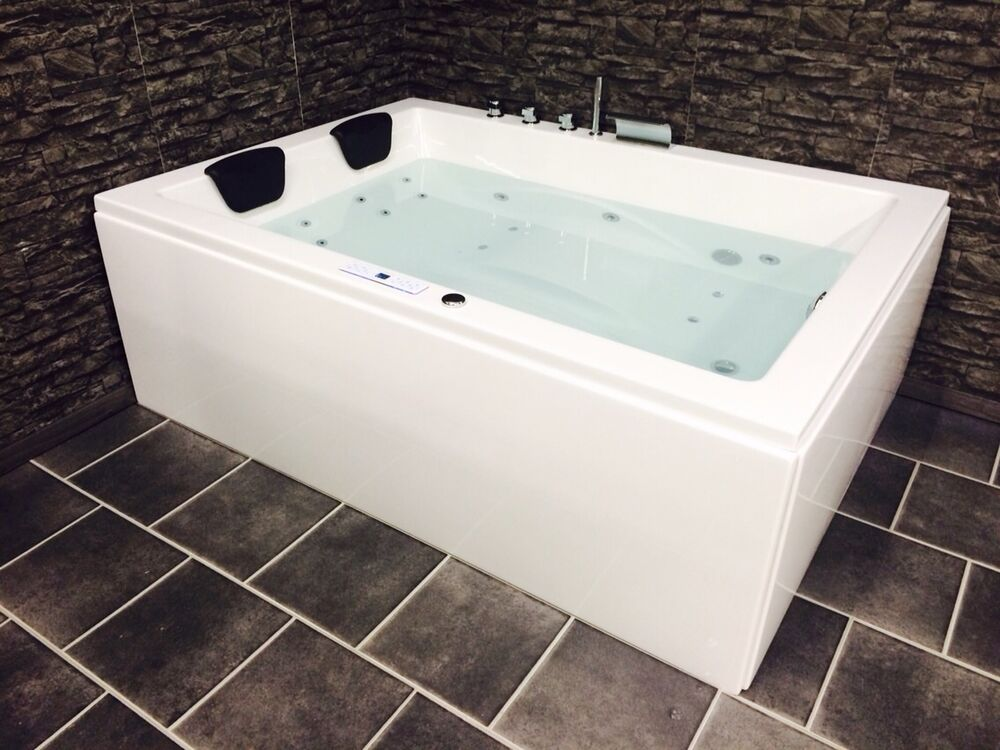 whirlwanne whirlpool armatur jacuzzi badewanne lxw laura premium made in germany ebay. Black Bedroom Furniture Sets. Home Design Ideas