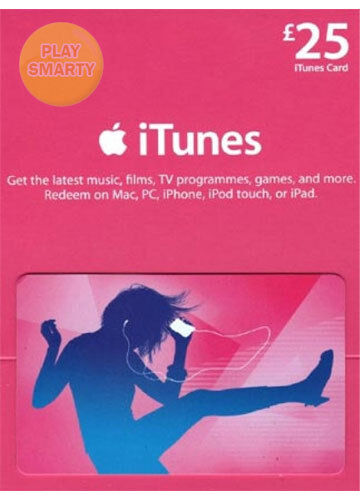 25 pound itunes gift certificate card 25 gbp apple uk. Black Bedroom Furniture Sets. Home Design Ideas