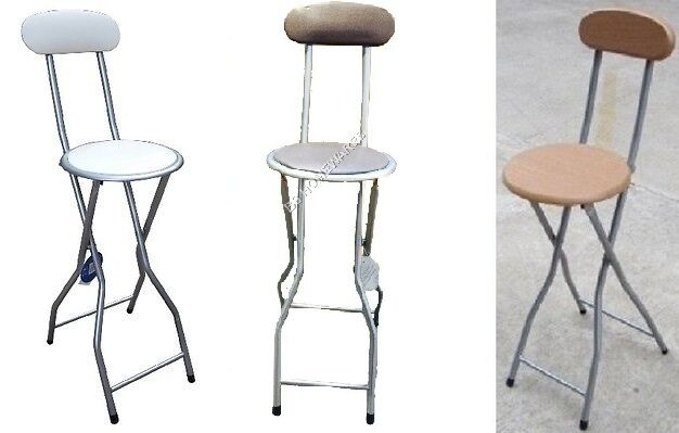 New Breakfast Bar Party Folding Chair Stool With Back Rest  : s l1000 from www.ebay.co.uk size 626 x 399 jpeg 28kB