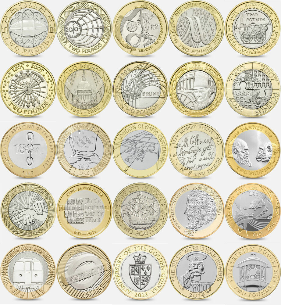 many coins from all - photo #32