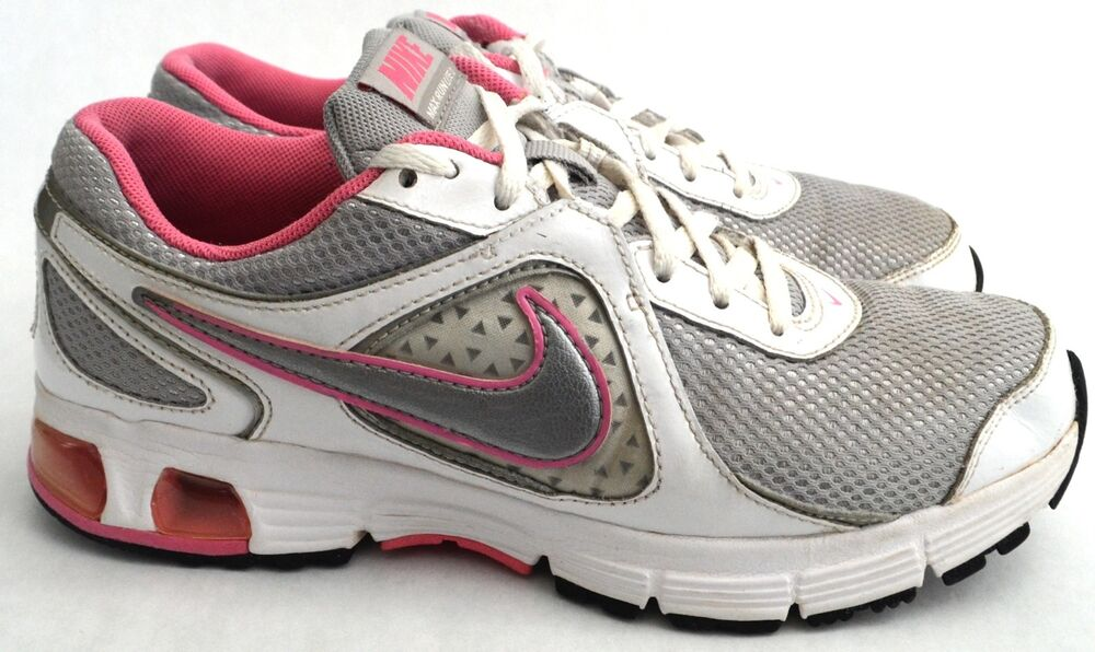 nike air max run lite 2 running shoes white pink size 6 5 youth 7 5 womens ebay. Black Bedroom Furniture Sets. Home Design Ideas