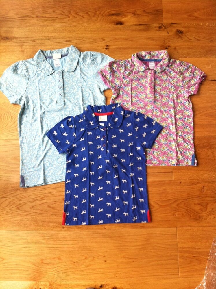 Girls ex mini boden polo top tshirt 18 24 2 3 4 5 6 7 8 9 for Mini boden england
