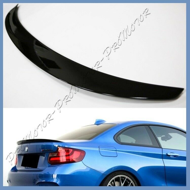 Pick Color 2014-18 BMW F22 Coupe P Type Trunk Boot Spoiler
