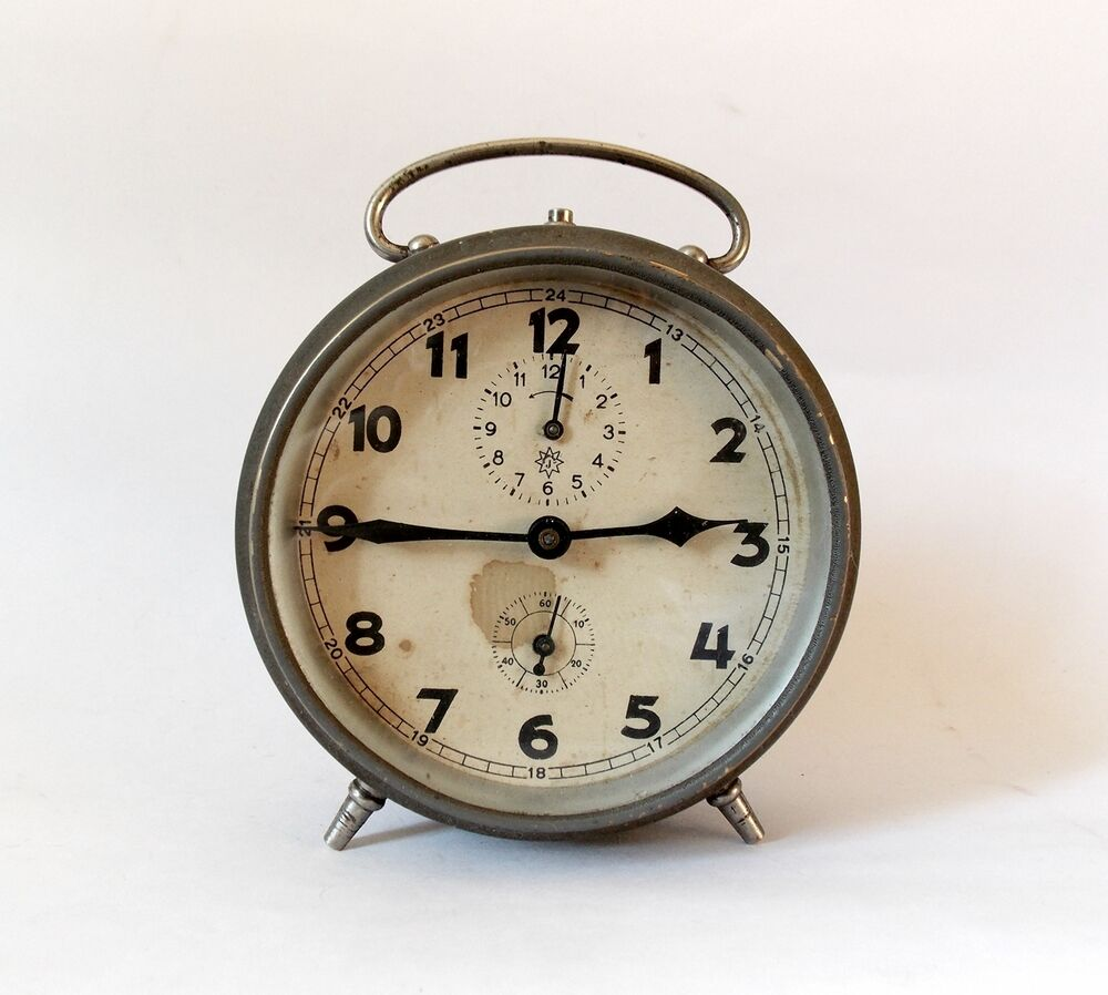 Good Alarm clock vintage will