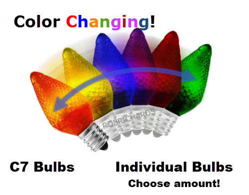 Led Color Changing Bulbs Refrigerator Night Light