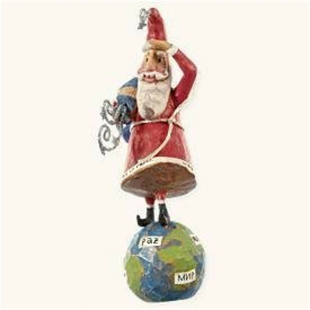 Hallmark 2008 peace on earth ornament a santa claus List of christmas ornaments