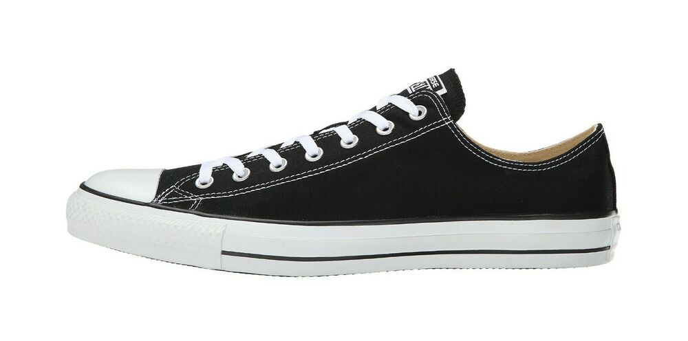 fede3eb7790733 Details about Converse Chuck Taylor All Star Low Top Canvas Women Shoes  M9166 - Black White