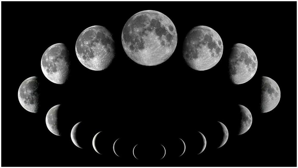 lunar phases in space - photo #12
