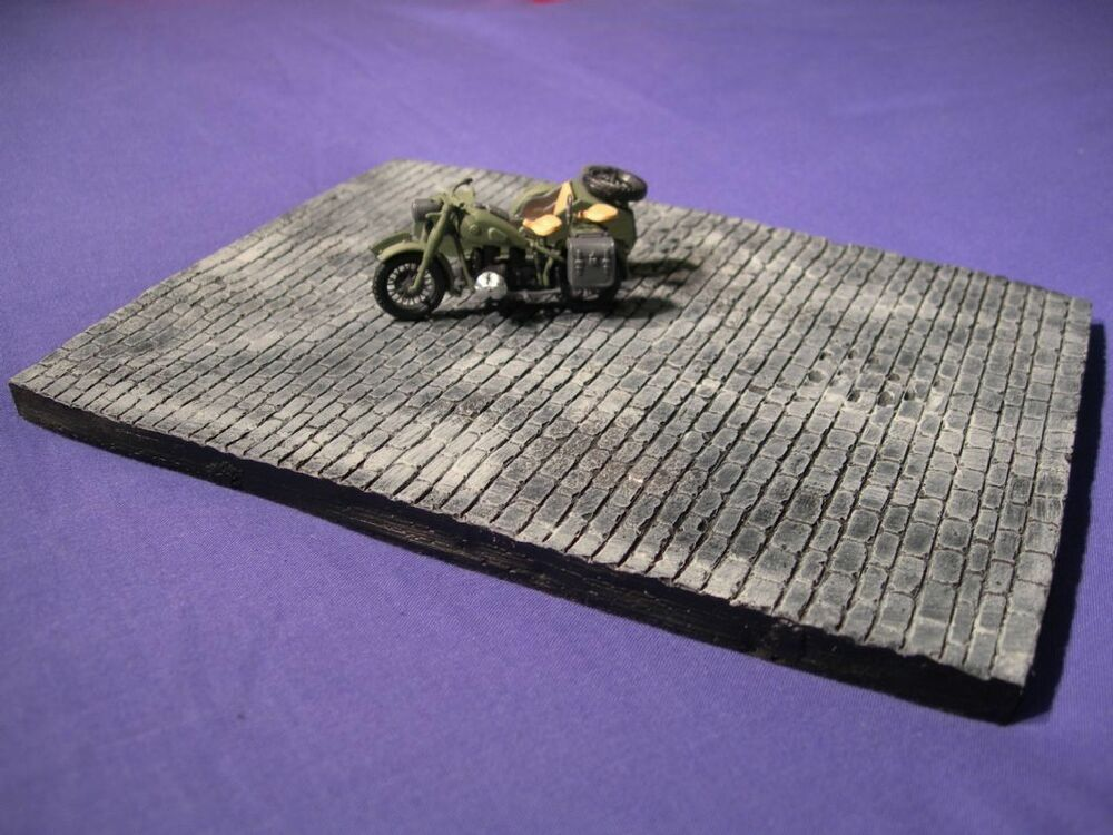1 35 scale block roadway diorama base 210mm x 160mm military models ebay. Black Bedroom Furniture Sets. Home Design Ideas