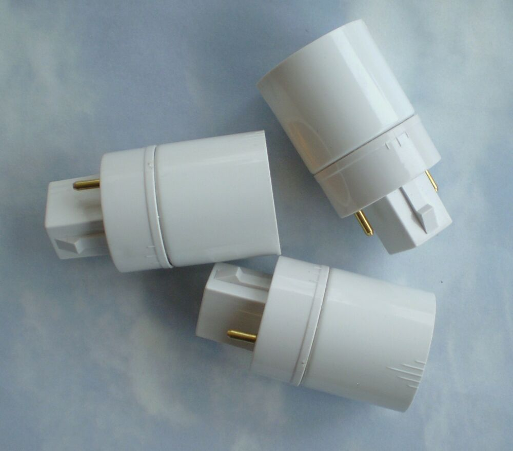 Three 3 Adapters Converters To Use Regular Cfl Bulbs In An Aerogarden Ebay