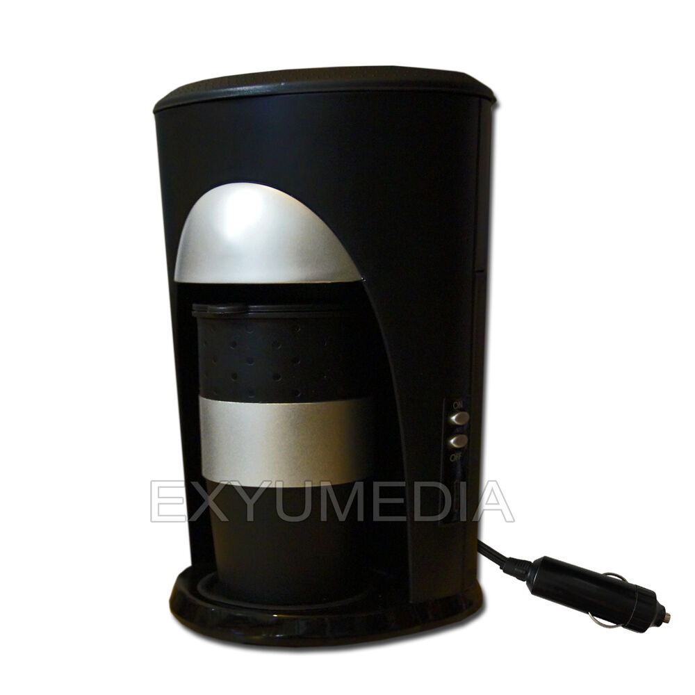 12v pad kaffeemaschine reise kaffee automat 12 volt zigarettenanz nder auto lkw ebay. Black Bedroom Furniture Sets. Home Design Ideas