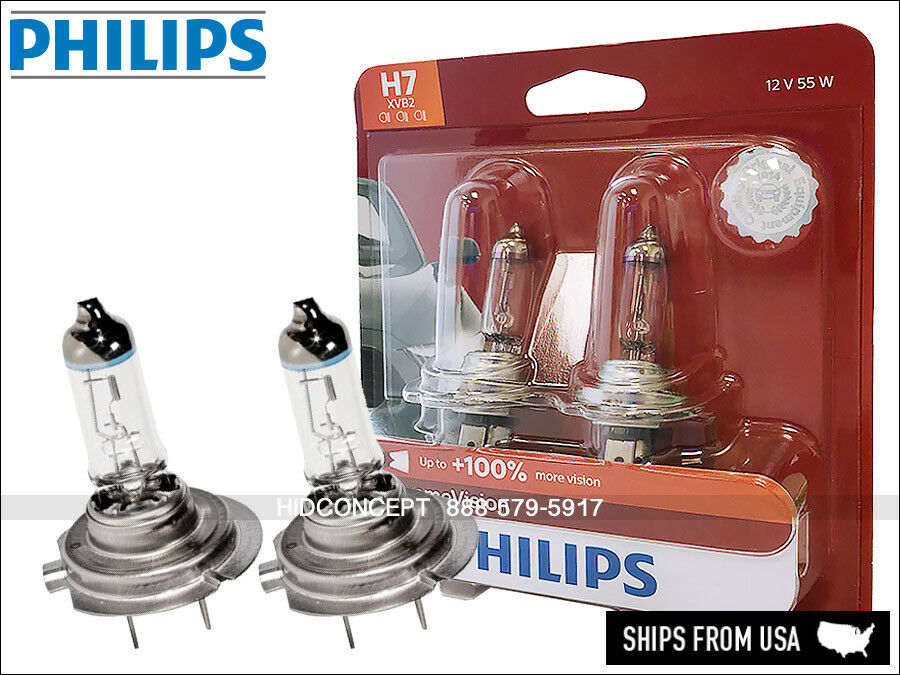 new philips x treme vision h7 halogen replacement bulbs. Black Bedroom Furniture Sets. Home Design Ideas