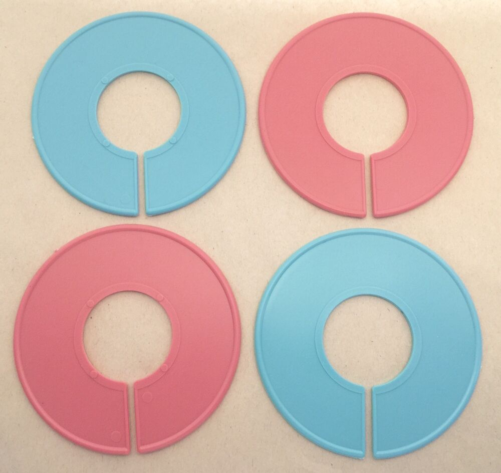 Plastic Pink Amp Blue Round Clothing Rack Size Clothes
