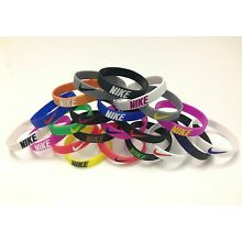 NIke Sports Baller Silicone Wristband Bracelet, 22 Colors available