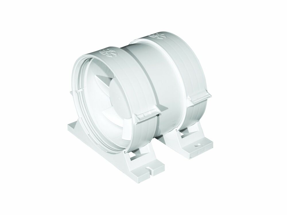 Ducting Extractor Fan 100mm 4 With Bracket Inline Duct