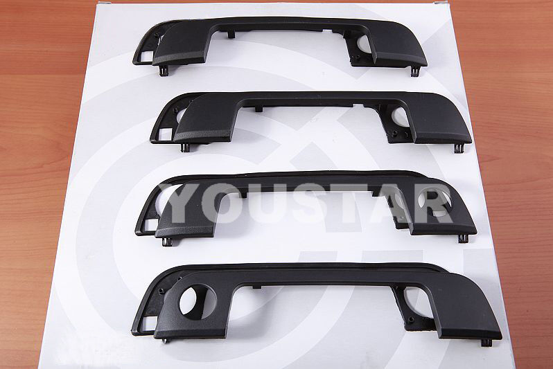 Complete Outer Door Handle Cover Trim With Seal For Bmw